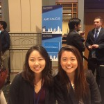 2016 CKA PSI interns Caroline Kim (left) and Jennifer Kwon (right)