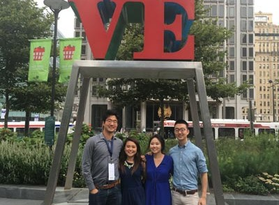 2016 CKA PSI interns in Philadelphia