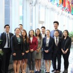 2016 CKA PSI interns and CKA staff John Kim and Jessica Lee at the Department of State
