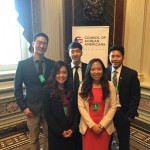 2016 CKA PSI interns at the Indian Treaty Room of the White House