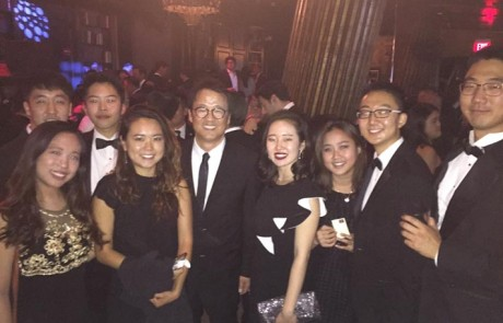 2016 CKA PSI interns with Forever 21 President Alex Ok