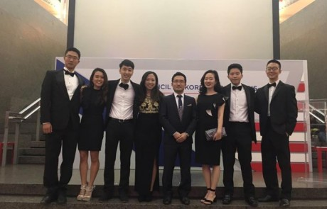 2016 CKA PSI interns at the 2016 CKA Gala & Awards Dinner