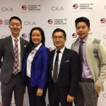2016 CKA PSI interns with CKA member Grace Chung Becker at the 2016 CKA National Summit