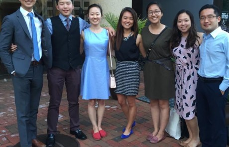 2016 CKA PSI interns at the CKA Public Service Internship Program Welcome Dinner in Washington