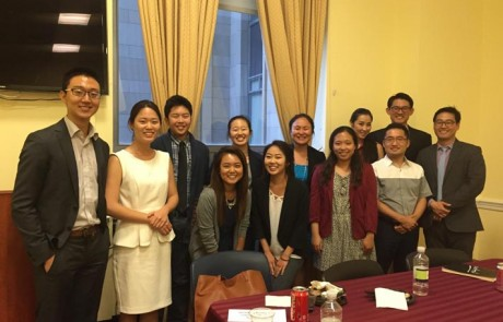 2016 CKA PSI interns with Korean American professionals in public service