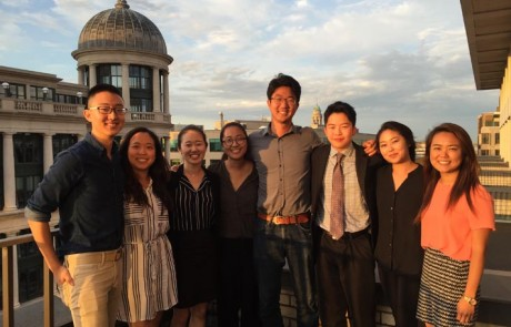 2016 CKA PSI interns at the Maureen and Mike Mansfield Foundation's Washington office