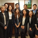 2016 KALCA interns with Hon. Justice Danny Chun, New York State Supreme Court