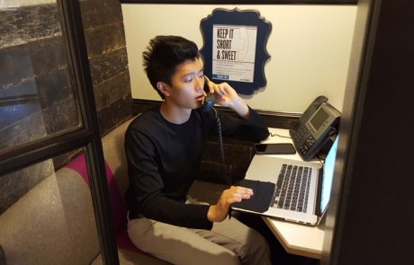 2016 KALCA intern (William Pak) phone banking