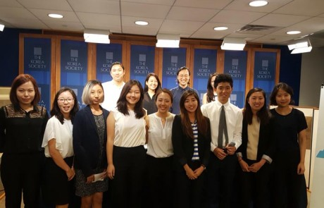 2016 KALCA interns and The Korea Society host Startup & Entrepreneurship Career Panel