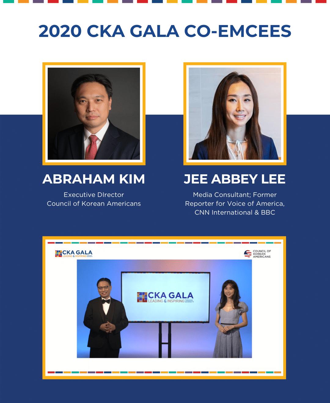 2020 CKA Gala Co-Emcees