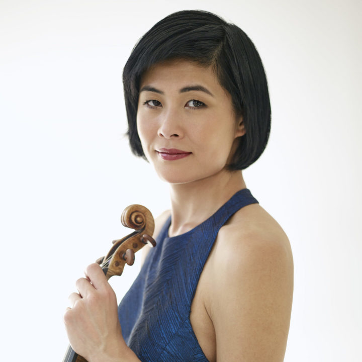 JENNIFER KOH - violinist photographed in New York City